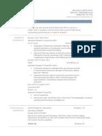 brandons revised resume