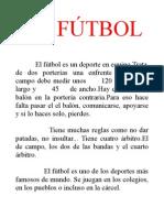 el fútbol[1]