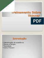 Treinamento Sobre Thinner.ppt