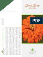 Garden Club of Virginia Year in Review 2014-2015