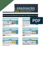 Calendario Engenharia de Segurança 2014.2 e 2015.1
