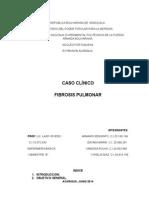 Caso Clinico Fibrosis Pulmonar
