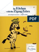 In the Kitchen With Zigzag Zebra