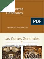 Constitución Española. Las Cortes Generales