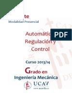 Automática, Regulación y Control