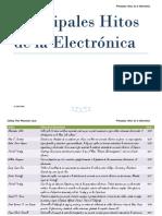 Principales Hitos de La Electrónica