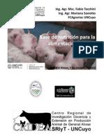 Bases y Fases Alimentación Porcinos Alvear 2012
