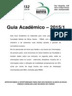 Guia Acadêmico 1 2015