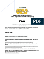 SWCharGen FAQ