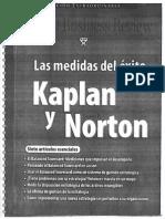 Las Medidas Del Éxito - Kaplan y Norton