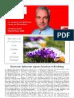 Newsletter MärzII 2010