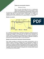 Modelos de comunicacio¦ün Colectiva