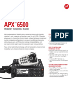 APX 6500 NA Datasheet