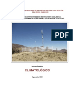 Climatología región Ayacucho