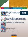 Psychologie Du Développement - Manuels Visuels de Licence
