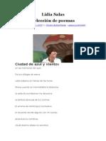 Poemas de Lidia Salas