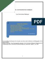 Corrections Statiques ( prospection sismique)