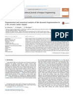 2015-Experimental and Numerical Analysis of the Dynamic Fragmentation in SiC Ceramic Under Impact