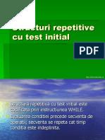 Structuri Repetitive Cu Test Initial
