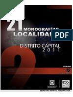 Monografia Barrios Unidos 2011