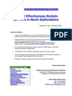 Clinical Effectiveness Bulletin 36 - January 2010