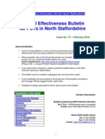 Clinical Effectiveness Bulletin 37 - February 2010