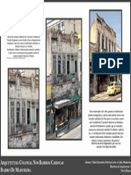 Prancha 1 Arquitetura Colonial nos bairros cariocas - Madureira
