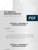 Regime Jurídico Administrativo 2015