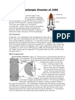 Case Study on the Challenger Disaster