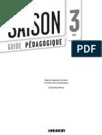 Guide Pedagogique - Saison 3 FLE