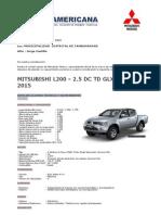 l200 2.5 Dc Td Glx Mt Regular