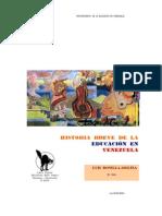 HISTORIA BREVE DE LA EDUCACIÓN EN VENEZUELA