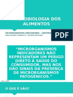 Microbiologia Dos Alimentos - Microorganismo indicador