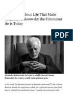 82 Maxims About Life That Made Alejandro Jodorowsky the Filmmaker He is Today