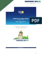 Plan de Saneamiento Fiscal y Financiero ESE SUBA