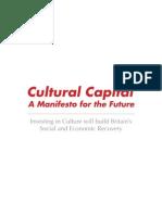 Cultural Capital Manifesto