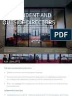 4. Independent and Outside Directors - Research Spotlight