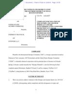 International Olympic Committee cybersquatting complaint.pdf