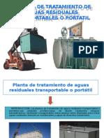 PLANTA DE TRATAMIENTO DE AGUAS RESIDUALES  TRASPORTABLES O.pptx