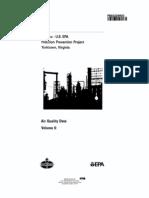 1992-06-30 PB92228600 Amoco Yorktown - EPA Pollution Prevention Project Volume II - Air Quality Data