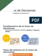 Análisis de Decisiones