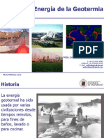 Energía de La Geotermia - Clase WJT 2015