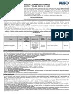 PREFEITURA DO MUNICÍPIO DE LEME/SP CONCURSO PÚBLICO - EDITAL Nº 01/2015