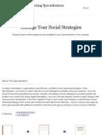 Social Media Marketing | Coursera