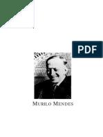 Murilo Mendes, Poeta Italiano