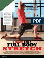 4 Moves for a Full Body Strech