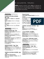 Programa - 12 Muestra Documental Peruano
