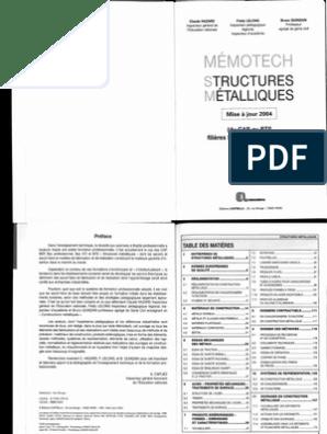 GRATUIT TÉLÉCHARGER PDF GÉNIE MÉMOTECH CIVIL