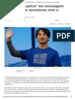 Olhar Digital_ Microsoft _explica_ Em Mensagem Secreta o Que Aconteceu Com o Windows 9