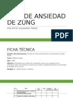 Test de Ansiedad de Zung